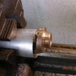 Receiver end threaded and machined square
